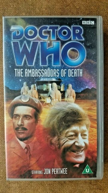 Doctor Who - The Ambassadors Of Death (VHS, 2002) - Jon Pertwee